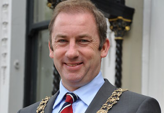 Lord Mayor Oisin Quinn at Upstarts Business Fit Event